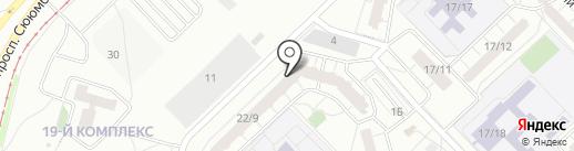 Чегевара на карте Набережных Челнов