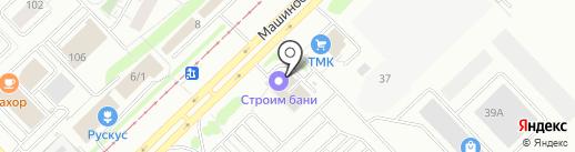 Барс на карте Набережных Челнов