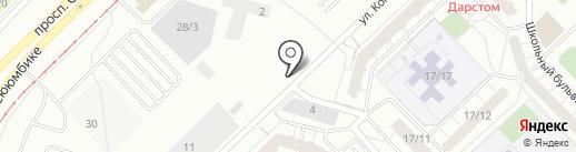 Флореаль на карте Набережных Челнов