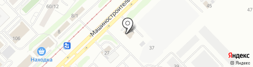 АкваБриз на карте Набережных Челнов