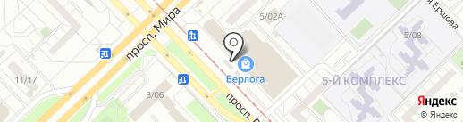 BroStar на карте Набережных Челнов