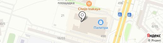 Модное пальто на карте Набережных Челнов