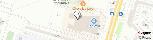 СК Европлан на карте Набережных Челнов