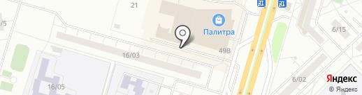 Дельта системы безопасности на карте Набережных Челнов