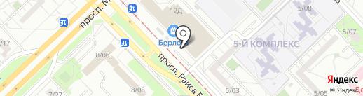 METROPOL на карте Набережных Челнов