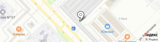 Якудза на карте Набережных Челнов