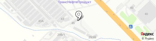 ГлавПоставка на карте Набережных Челнов