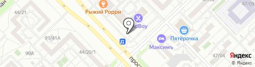 SOHO boutique на карте Набережных Челнов