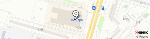 Gulsara на карте Набережных Челнов