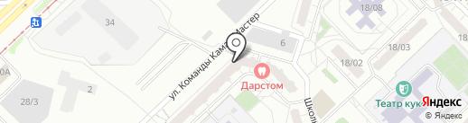 Модистка Кэт на карте Набережных Челнов