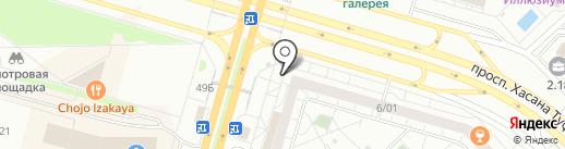 Сметана на карте Набережных Челнов