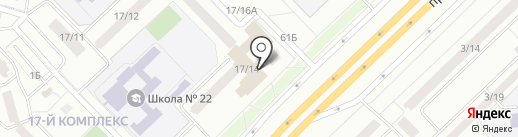 Шатлык на карте Набережных Челнов