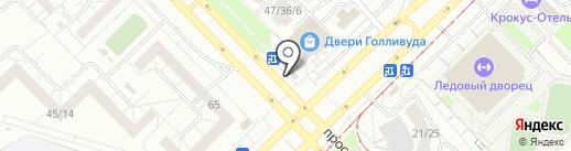 Дружба на карте Набережных Челнов