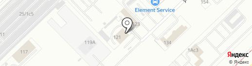 СтройТакси116.рф на карте Набережных Челнов