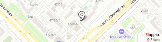 Хмельноff на карте Набережных Челнов
