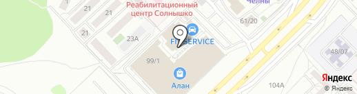АРМАТА на карте Набережных Челнов