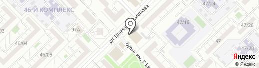 PETERS на карте Набережных Челнов