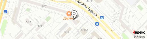 ТД КВАРТАЛ на карте Набережных Челнов