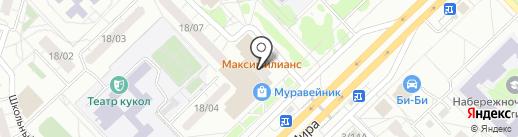 Iskhakova Nail Studio на карте Набережных Челнов