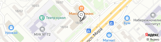 manhattan на карте Набережных Челнов