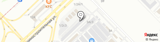 Автоцентр на карте Набережных Челнов