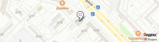 Болгар радиосы, FM 105.5, 102.6 на карте Набережных Челнов