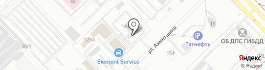 РеалАвто на карте Набережных Челнов