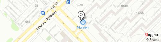 Низкие цены на карте Набережных Челнов