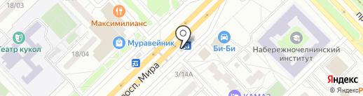 Хмельная лавка на карте Набережных Челнов