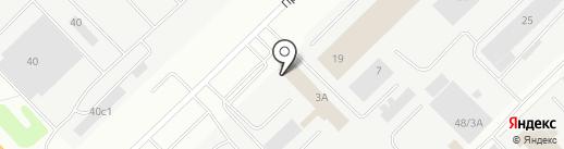 КАИНП на карте Набережных Челнов