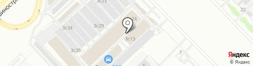 НИРКОМ на карте Набережных Челнов