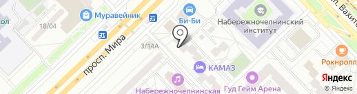 Авантаж 2000 на карте Набережных Челнов