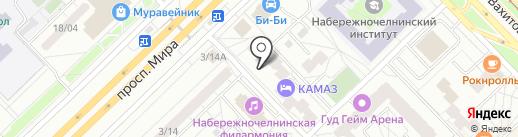 Ларкон на карте Набережных Челнов