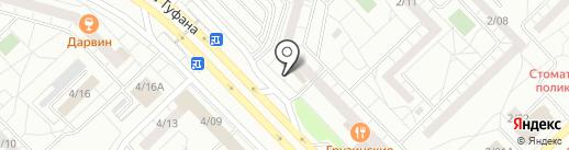 Компания Мэлт на карте Набережных Челнов