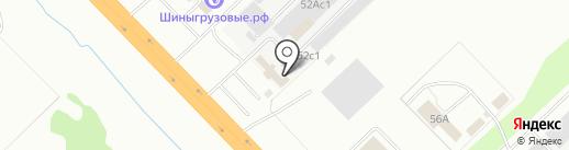 ТОРГТЕХКОМПЛЕКТ на карте Набережных Челнов