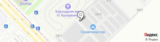 Все колесные опоры на карте Набережных Челнов