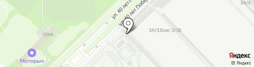 Avto116 на карте Набережных Челнов