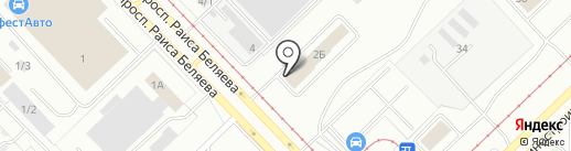 TopClean 24 на карте Набережных Челнов
