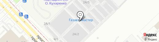 Интергазсервис на карте Набережных Челнов