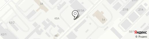 Трак-Мастер на карте Набережных Челнов