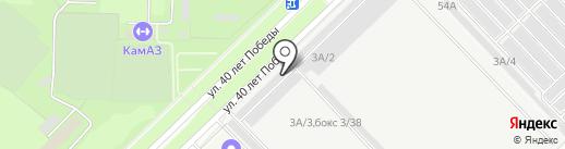 СТО Масел на карте Набережных Челнов