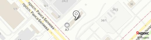 АвтоТрансТех на карте Набережных Челнов