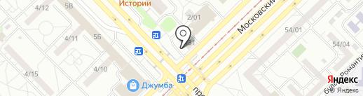 Росс тур на карте Набережных Челнов