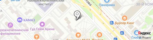 Адвокатская контора Фаткулина А.Р. на карте Набережных Челнов