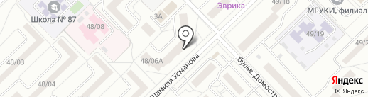 Нотариус Шайдуллина В.Х. на карте Набережных Челнов