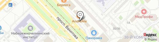Friends на карте Набережных Челнов