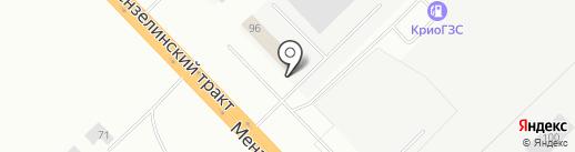 Челны на карте Набережных Челнов