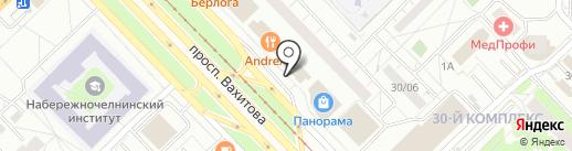 R & S на карте Набережных Челнов