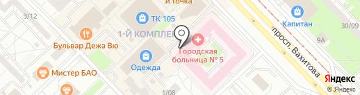 Буфет на карте Набережных Челнов