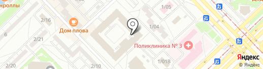 Боярда+ на карте Набережных Челнов